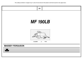 MasseyFergusonMF190LB