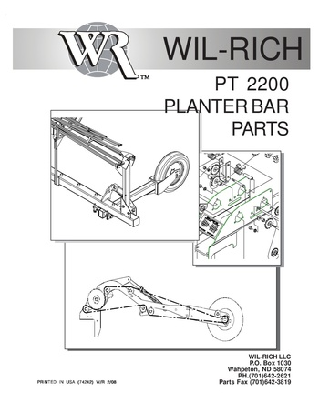 wil-rich-pt2200-planter-bar