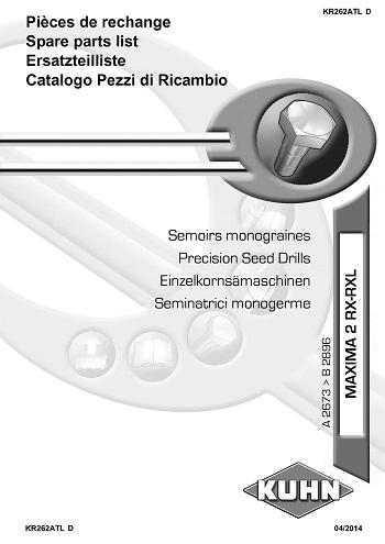 Kuhn Maxima 2 RX-RXL Precision Seed Drills_Страница_01