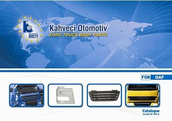 Kahvechi Otomotiv Euro Truck Body parts catalogue version DF-010-A for DAF_Страница_01