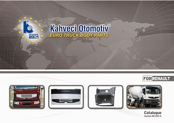 Kahvechi Otomotiv Euro Truck Body parts catalogue version RN-010-A for Renault_Страница_01